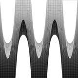 предпосылка ставит точки halftone Стоковое фото RF