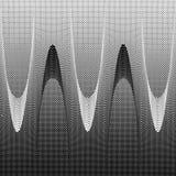 предпосылка ставит точки halftone Стоковая Фотография RF