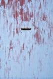 Предпосылка старая дверь металла Стоковые Изображения