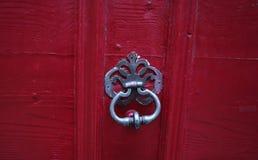 Предпосылка: старая деревянная дверь Стиль средневековая Европа & x28; France& x29; Стоковое Фото