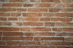 Предпосылка старой винтажной кирпичной стены Стоковая Фотография RF