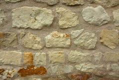 Предпосылка старой, каменной стены интересная Стоковое Изображение RF