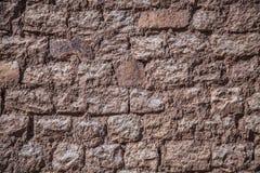 Предпосылка старой кирпичной стены Стоковое Фото