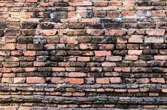 Предпосылка старой текстуры кирпичной стены Стоковая Фотография