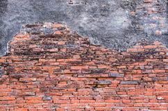 Предпосылка старой текстуры кирпичной стены Стоковые Фото