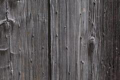 Предпосылка: старый деревянный стиль средневековая Европа Франция двери Стоковая Фотография RF
