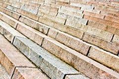 Предпосылка старых лестниц стоковая фотография rf