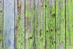 Предпосылка старых покрашенных доск Стоковое Фото