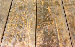 Предпосылка старых темных деревянных планок Стоковые Изображения RF