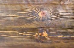Предпосылка старых темных деревянных планок Стоковые Фото