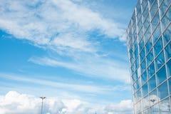 Предпосылка стекла здания Стоковое Изображение