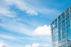 Предпосылка стекла здания Стоковое фото RF