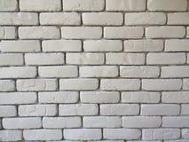 Предпосылка стены блока кирпича в живущей комнате дома, белая стена в доме, ресторан или кафе, белые большие обои стены блока кир стоковые изображения rf