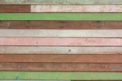 Предпосылка стены винтажного teak деревянная Стоковое Изображение