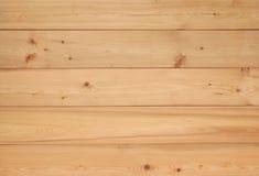 Предпосылка стены планки деревянная Стоковые Изображения RF