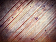Предпосылка стены Grunge деревянная стоковая фотография