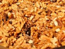 Предпосылка стерженя грецких орехов Стоковое Фото