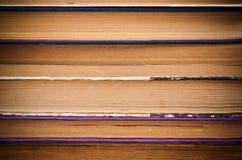 Предпосылка страниц старых книг Стоковое Изображение