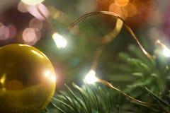предпосылка сферы рождества сезонная Стоковая Фотография RF