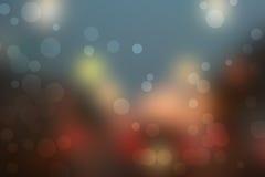 Предпосылка 2015 счастливого bokeh Нового Года абстрактная Стоковая Фотография