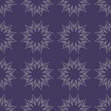 Предпосылка с абстрактной картиной цветков круга Стоковые Изображения