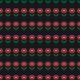 Предпосылка с абстрактной картиной цветков Стоковое Изображение RF