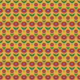 Предпосылка с абстрактной картиной цветков Стоковые Фотографии RF