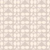 Предпосылка с абстрактной картиной цветков Стоковая Фотография