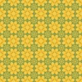 Предпосылка с абстрактной картиной цветков Стоковое фото RF