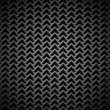 Предпосылка с безшовной черной текстурой углерода Стоковое Изображение RF