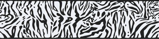 Предпосылка с белой кожей тигра Стоковые Фото