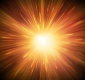 Предпосылка с взрывом иллюстрация вектора