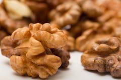 Предпосылка сделанная из грецких орехов Стоковое Изображение