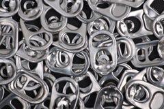 Предпосылка тяги кольца металла Стоковая Фотография