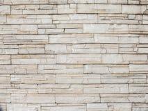 предпосылка сделала каменную белизну стены текстуры камней Стоковые Изображения