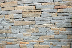 предпосылка сделала каменную белизну стены текстуры камней Стоковая Фотография