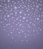 Предпосылка с звездами Стоковая Фотография