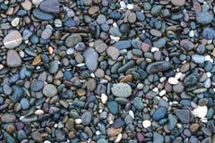 Предпосылка с камнями моря Стоковая Фотография RF