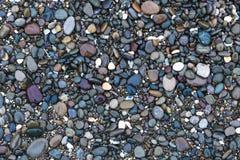 Предпосылка с камнями моря Стоковые Изображения