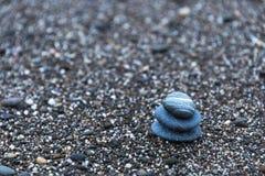 Предпосылка с камнями моря Стоковое Изображение