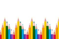 Предпосылка с карандашами цвета LGBT Стоковое фото RF