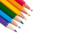Предпосылка с карандашами цвета LGBT Стоковая Фотография RF