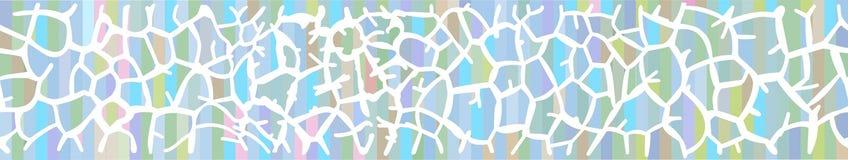 Предпосылка с кожей жирафа в пастельных цветах Стоковое Фото