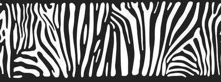 Предпосылка с кожей зебры Бесплатная Иллюстрация