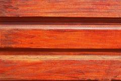 Предпосылка с коричневой древесиной Стоковая Фотография