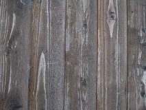 Предпосылка с коричневыми деревянными планками Стоковая Фотография RF