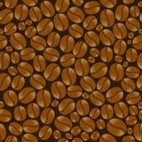Предпосылка с кофейными зернами Стоковые Фото