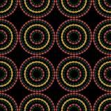 Предпосылка с круглой картиной цветков Стоковое Фото