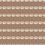 Предпосылка с покрашенной конспектом картиной цветков Стоковые Фото
