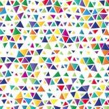 Предпосылка с покрашенными треугольниками иллюстрация вектора